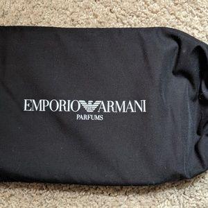 Emporio Armani Double Clutch Bag